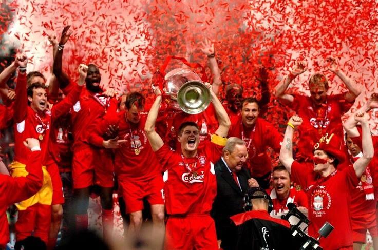 Liverpul je pobedom protiv Milana 2005. godine osvojio titulu lige šampiona.