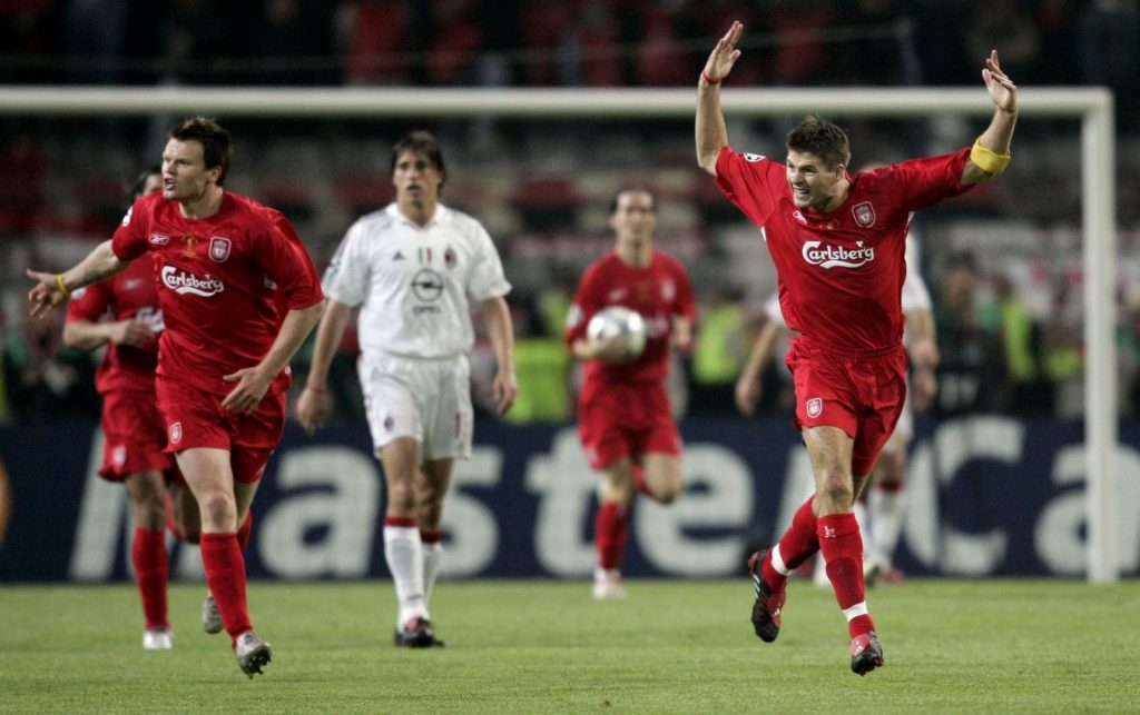 Fudbaleri Liverpula su se vratili posle 0 : 3 protiv Milana i postali šampioni Evrope.
