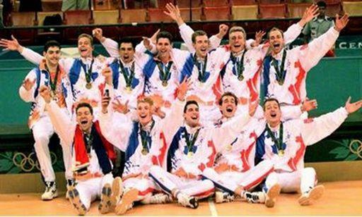 Odbojkaši Holandije - Olimpijski šampioni u Atlanti 1996. godine.
