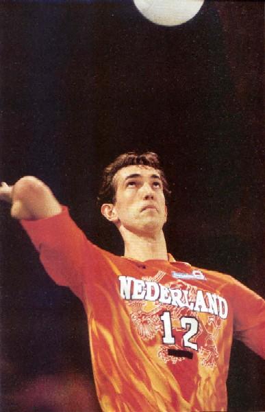 Zlatne ruke Holandske odbojke – Peter Blanže