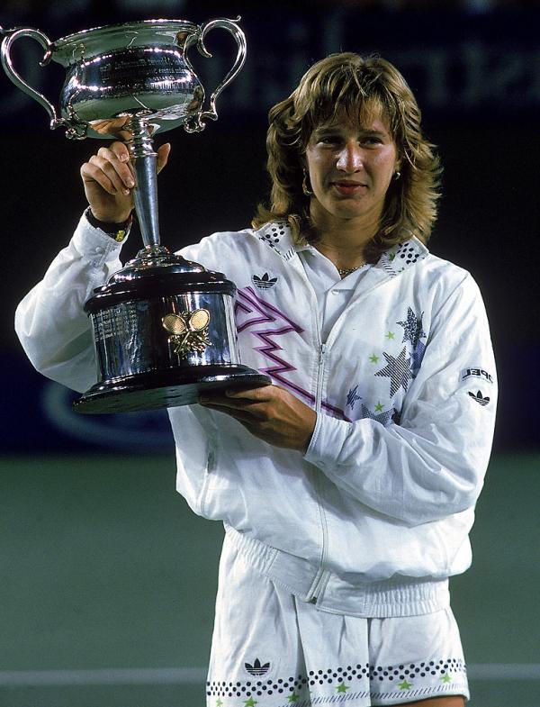 Štefi Graf je 1988 osvojila Australian Open bez izgubljenog seta