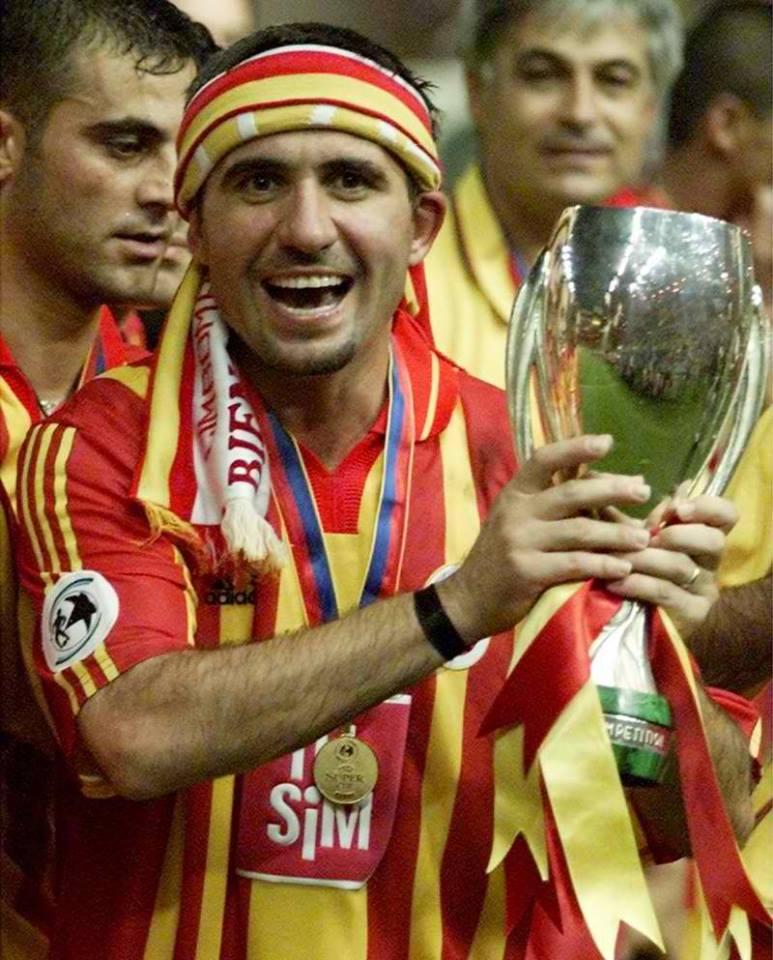 George Hađi je sa Galatasarajem osvojio Kup Uefa 2000. godine
