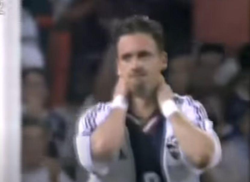 Predrag Mijatović je bio u šoku zbog pogođene prečke.