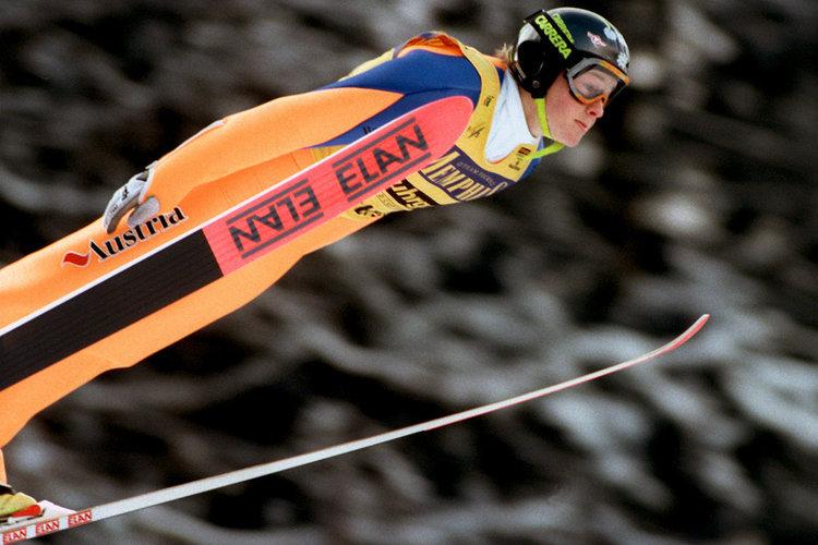 """Fenomenalni Austrijski ski skakač - Andreas """"Goldi"""" Goldberger"""