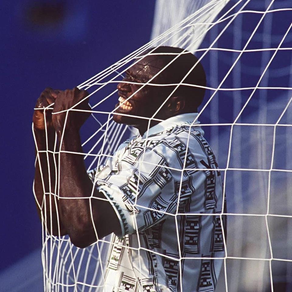 Rašidi Jekini - Čuvena proslava gola protiv Bugarske na SP. u Americi 1994. godine.