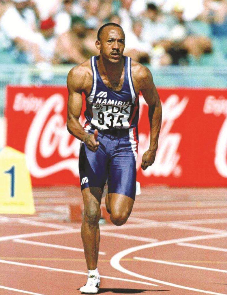 Jedan od najboljih sprinterasvih vremena - Frenki Frederiks