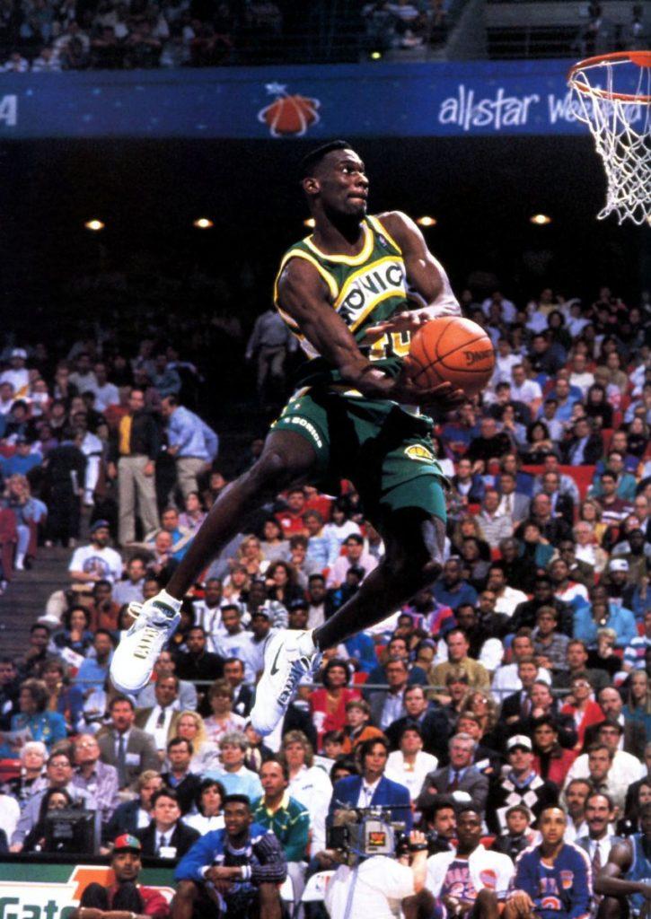 Jedan od najatraktivnijih košarkaša svi vremena, Kišni čovek - Šon Kemp