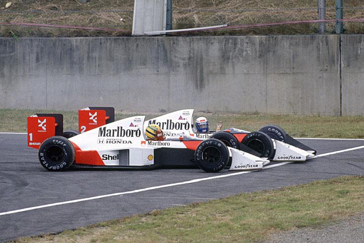 Trke koje su obeležili rivlastvo Ajrton Sene i Alen Prosta dogodile su se dve godine zaredom na trci za VN Japana.