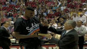 Dejvid Robinson je 1995. godine dobio MVP nagradu za najboljeg igrača regularnog dela sezone.