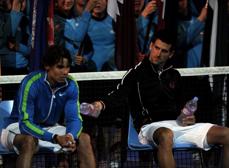 Posle skoro 6 sati iscrpljujućeg finala, dvojica tenisera su gotovo kolabirali na dodeli pehara, pa su organizatori bili prinuđeni da obojici tenisera donesu stolicu.