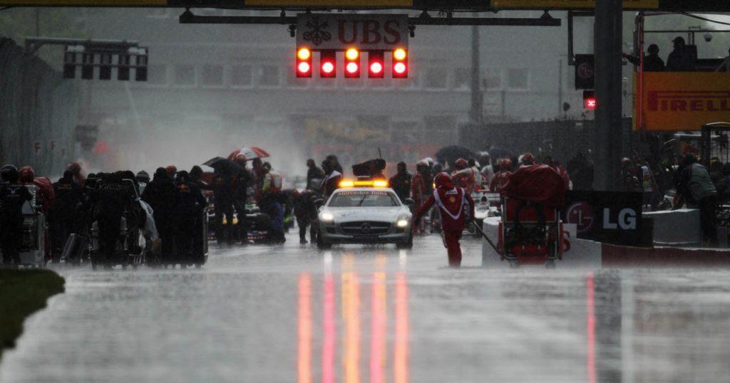 Zbog kiše trka za Veliku nagradu Kanade je bila u prekidu više od dva sata.