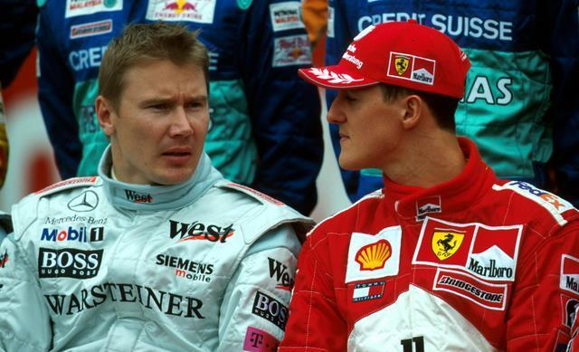Mihael Šumaher je smatrao Miku Hakinena jedinim rivalom vrednim poštovanja.