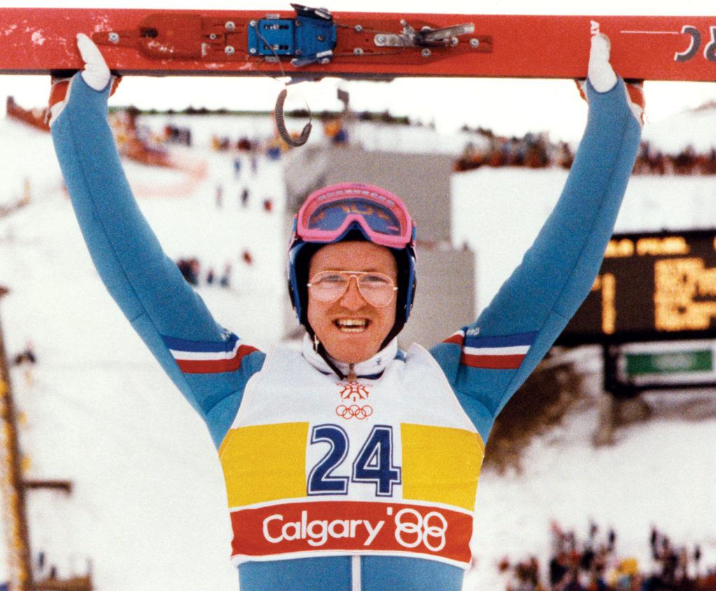 """U Kalgariju je stekao svetsku slavu, postao prvi britanac koji je nastupao u ski skokovima na ZOI a može se reći da i pored loših rezultata je uz čuveni Jamajčanski Bob tim bio glavna zvezda igara u Kalgariju. - Edi """"Orao"""" Edvards"""