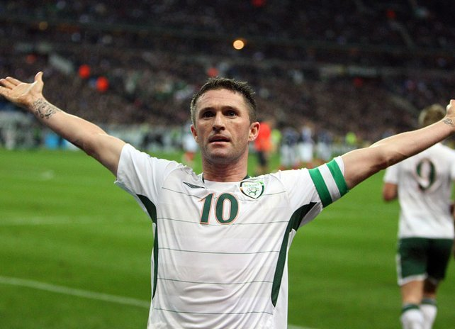 Robi Kin je doveo Irce u vođstvo i uveo meč u produžetke.