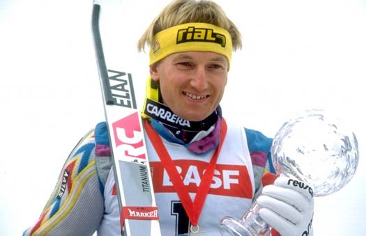 Najuspešnija sezona za Križaja u Svetskom kupu bila je sezona 1986/87, kada je osvojio mali Kristalni globus u slalomu.