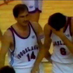 Neverovatan poraz Jugoslovenskih košarkaša u polufinalu Svetskog prvenstva u Madridu