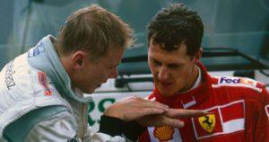 Hakinen i Šumaher su u razgovoru posle trke analizirali Mikino spektakularno preticanje.