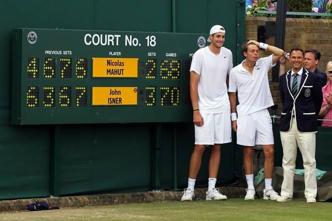 Džon Izner i Nikola Mau - Tri dana tenisa