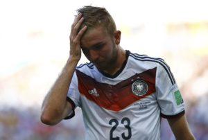 Kristof Kramer je halucinirao tokom finalnog meča Svetskog prvenstva 2014. godine zbog potresa mozga koji je doživeo u jednom duelu sa argentinskim defanzivcem.