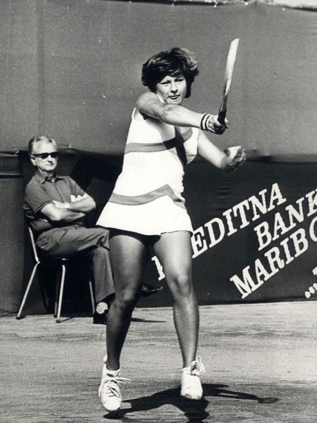 Mima Jaušovec - Prva teniserka koja je bila velika zvezda od Vardara do Triglava