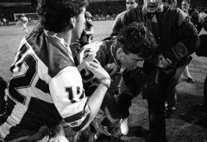 Miroslav Đukić je jedva izvukao živu glavu posle promašenog penala koji je Deportivo koštao titule.