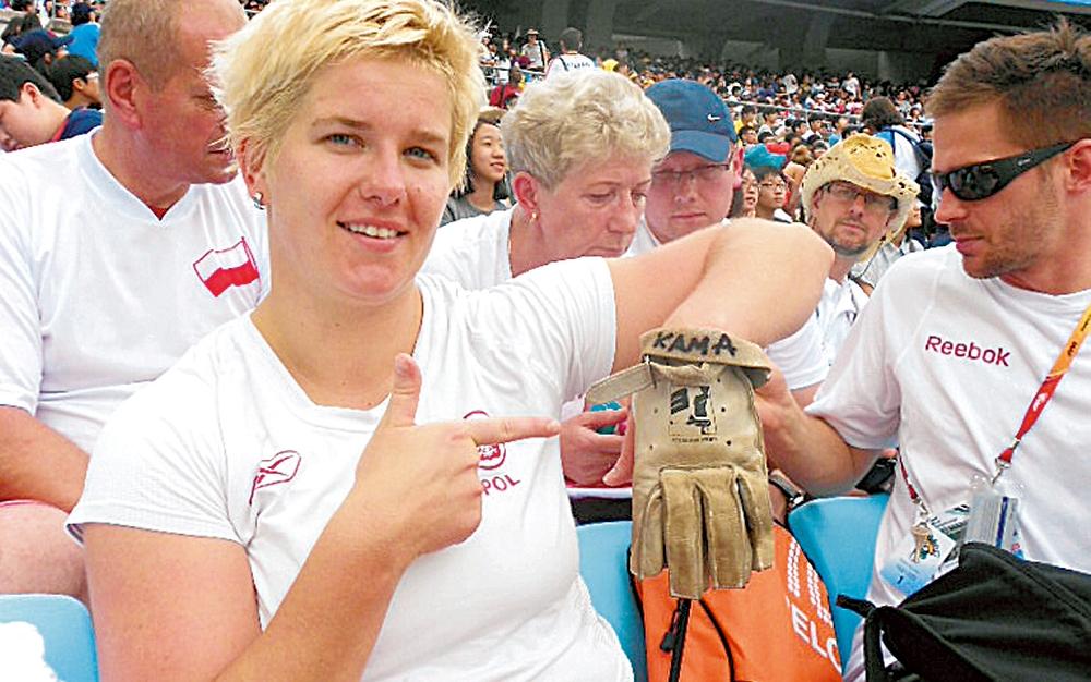 Anita Vlodarčik je sa rukavicom Kamile Skolimovske osvojila zlatnu medalju na Igrama u Riju.