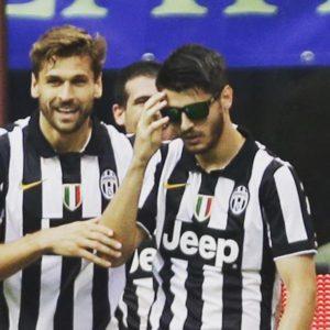 """16. maj 2015. godine, Juventus je takoreći sa drugim timom nadigrao i pobedio Inter, pošto su na terenu od standardnih startera bili samo Bonući, Lihtštajner, Markizio i Morata. U centru pažnje našao se španski internacionalac, Alvaro Morata, koji je u 83. minutu bio strelac pobedonosnog gola za """"Staru damu"""". Međutim, nisu gol i loša intervencija Handanovića ti koji su ovog, tada 22-godišnjeg, momka stavili u centar pažnje. Naime, sjajni Morata je gol proslavio na jako neobičan način. Stavio je naočare za sunce i mnoge nasmejao tim šmekerskim gestom."""