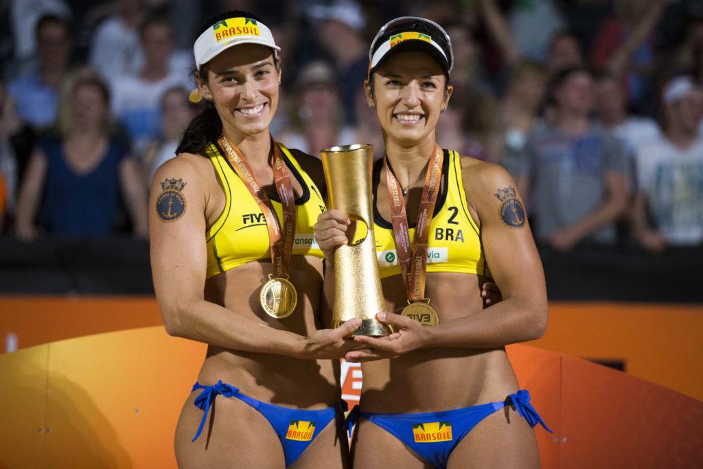 Barbara i Agata - Svetske prvakinje 2015. godine.