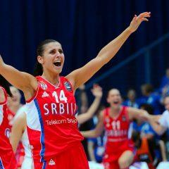 Ana Dabović – Mazanje labelom tokom meča