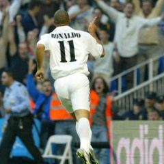 Ronaldo Nazario de Lima – Debi za Real u 63. minutu, gol u 64.