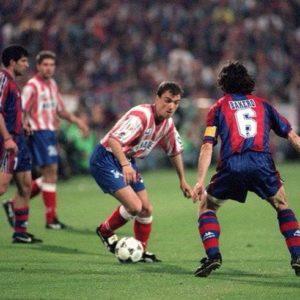 """Malo je timova koji su velikoj Barseloni uspeli da daju 4 pogodaka na jednoj utakmici, a kamoli igrača… Bio je 12. mart 1997. godine kada je šampionski sastav Atletiko Madrida pod vođstvom Radomira Antića došao na """"Kamp Nou"""" da brani trofej u """"Kupu kralja"""". Te večeri Milinko Pantić bio je nerešiva enigma za premoćne Katalonce, postigao 4 pogodaka i odigrao jedan od najboljih mečeva u karijeri, ali na kraju ipak plakao u svlačionici:"""
