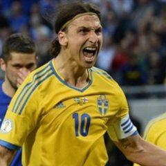 Zlatan Ibrahimović – Loptom u lice golmana Farskih Ostrva
