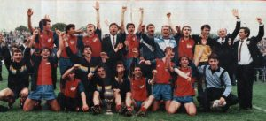 Do kraja meča rezultat se nije menjao, pa je Borac osvojio jubilarni 40. Kup Jugoslavije i postao jedini drugoligaš koji je uspeo u tome. Mediji širom Jugoslavije bili su oduševljeni igrom tima iz BiH. A trofej kao kapiten ekipe prvi je prigrlio Damir Špica.