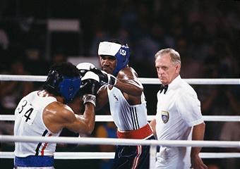 Ivander Holifild je odlično boksovao na Olimpijskim igrama u Los Anđelesu.