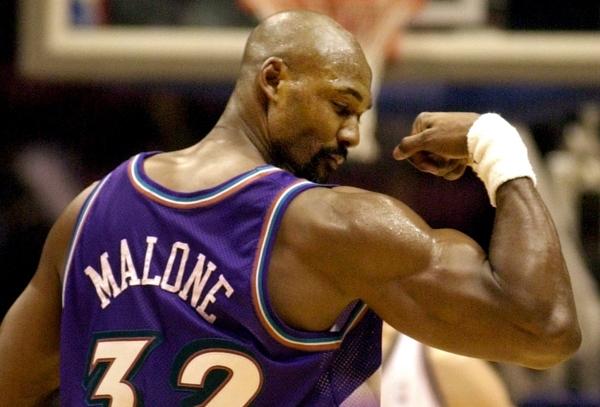 Karl Meloun je jedan od najsnažnijih košarkaša ikada.
