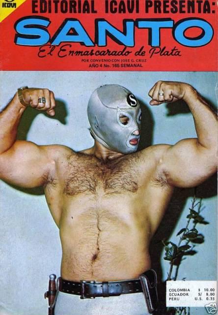 """""""El Santo"""" je bio zvezde filmova i stripova u Meksiku."""