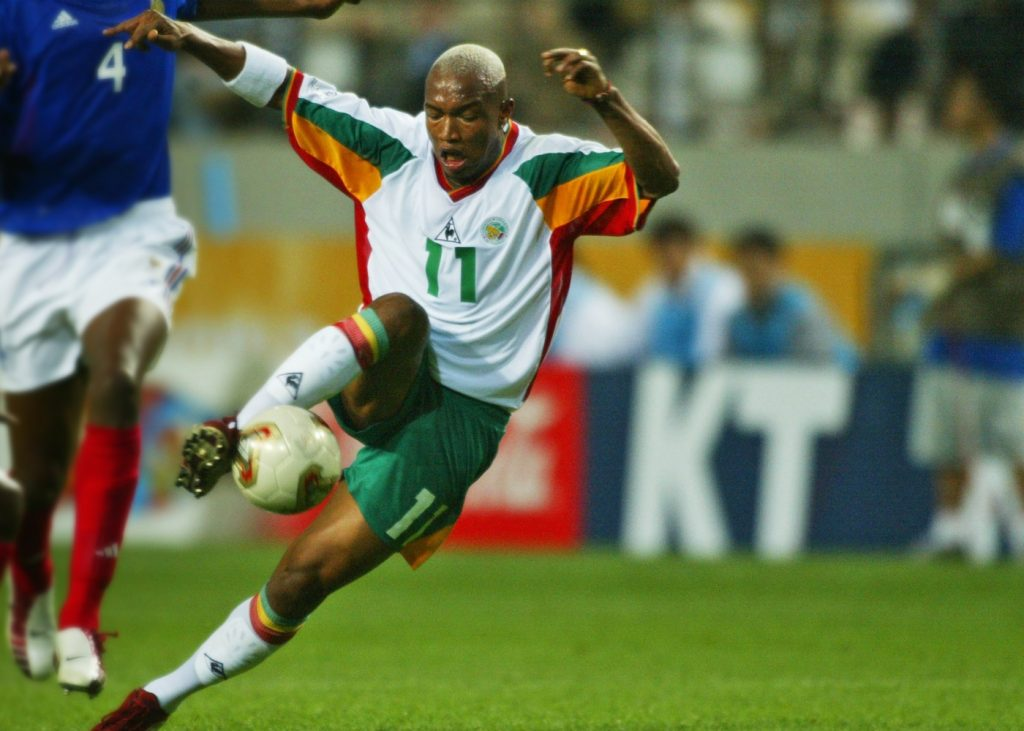 El Hađi Dijuf bio je među najboljim igračima na meču Francuska - Senegal.