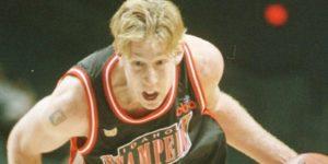 Posle sasvim dobre koledž karijere u kojoj je najvećim delom igrao za Central Mičigen Univerzitet, Nejt Hafman se 1997. godine našao na NBA draftu, ali i pored toga što je bio visok 216 centimetara, a kretao se poput dosta nižih igrača i što je tokom koledže karijere imao dabl-dabl u proseku, niti jedan NBA klub nije se odlučio da ga izabere. Ipak, i pored toga što nije izabran na draftu, Los Anđeles Klipersi su odlučili da mu daju šansu da se tokom leta izbori za ugovor sa njima, ali su na kraju tog perioda ipak odlučili da ga ne svrstaju u svoj tim, pa je zbog toga Hafman na kraju završio u dresu Ajdaho Stampida u razvojnoj CBA ligi. Posle odlične sezone u dresu Ajdaha u kojoj je bio u mnogim kategorijama u TOP 10 u ligi, usledila je selidba u Evropu, gde je obukao dres Fuenlabrade.