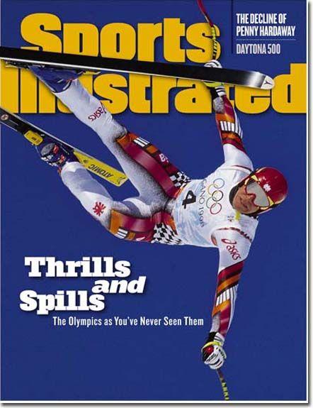 """""""Sports Ilustrated"""" je proglasio Hermana Majera za najvećeg junaka Igara u Naganu."""