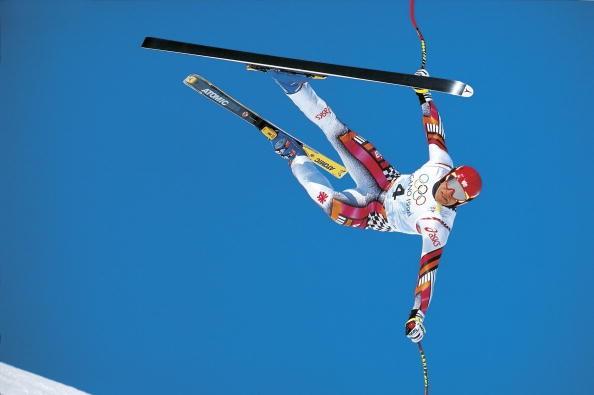 Herman Majer - Stravičan pad na Olimpijskim igrama u Naganu.