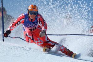 Nakon te trke, Janica je bila potpuno opuštena, uradila je već i više nego što se bilo ko nadao, a bila je dobro pripremljena za veleslalom, pa je startujući sa veoma visokim brojem 19, uspela da potpuno izdominira stazom i sa najbržim vremenom u obe trke i sa prednošću od 1,32 sekunde ispred najbliže konkurentkinje osvoji svoju treću zlatnu medalju na Igrama i tako postane najuspešnija skijašica u istoriji.