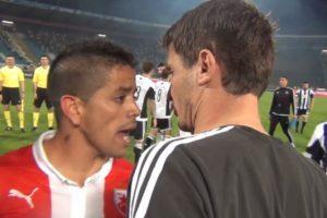 """Razbesneo je Everton domaće navijače, ali i njihovog ljubimca Luisa Ibanjeza. On je pokušao po završetku utakmice doći do Brazilca, a dok se raspravljao sa suparničkim igračima prišao mu je Saša Ilić, legendarni veznjak Partizana. Ilić ga je pitao u čemu je problem, na šta je Ibanjez """"poludeo"""": """"Šta je? Šta ti meni šta je bilo? Nemoj da mi glumiš frajera!"""" - rekao je Argentinac pre nego što su ga saigrači odvukli na drugu stranu. Kasnije se Ibanjez izvinio zbog tog incidenta i kazao kako veoma poštuje tada 38-godišnjeg Ilića, ali nema sumnje da je ovim prikupio dodatne simpatije """"Delija""""."""