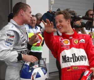 """To što je Dejvid Kultard trijumfovao na trci izazvalo je manje pažnje kod ljubitelja Formule 1 od njegove reakcije posle izgubljenog duela sa Šumaherom u 34. krugu, pa je očekivano prvo pitanje novinara za Kultarda na konferenciji za medije posle trke bilo da prokomentariše dešavanja iz """"Hairpin"""" krivine: """"Izvinjavam se zbog mog gesta koji nije u sportskom duhu, ali nadam se da možete da ga razumete, jer sam bio pod velikim adrenalinom. Mislim da Mihael vozi vrlo nesportski, imao sam čist put sa spoljne strane i bio sam bar podjednako brz kao on, ali je onda Šumaher odlučio da namerno ode široko u krivini i na taj način spreči me da ga preteknem, što me je vrlo razljutilo, iako znam da je njegova vožnja bila u skladu sa pravilima."""" - rekao je Dejvid Kultard odmah posle trke."""