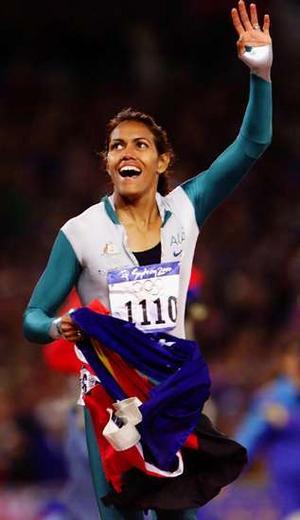 Keti Frimen osvojila je toliko željenu zlatnu olimpijsku medalju na Igrama u Sidneju.