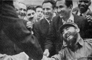 Na kraju su u partiji koja je po mnogima bila više od šaha, posle velike borbe slavili Fidel Kastro i Tigran Petrosjan, a fotoreporteri su spremno dočekali da slikaju trenutak u kome Fišer pruža ruku Kastru i čestita na pobedi.