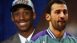 """U leto 1996. godine Los Anđeles Lejkersi su odlučili da trejduju u Šarlot Hornetse u tom trenutku možda i svog najboljeg igrača Vlade Divca, u zamenu za tada još maloletnog Kobija Brajanta. Bio je to potez koji mnogima nije bio baš najjasniji, jer se činilo da su """"Jezeraši"""" dali svog najboljeg igrača za nekog klinca od koga je veliko pitanje šta će biti, ali se ubrzo ispostavilo da franšiza iz Los Anđelesa nije pogrešila."""