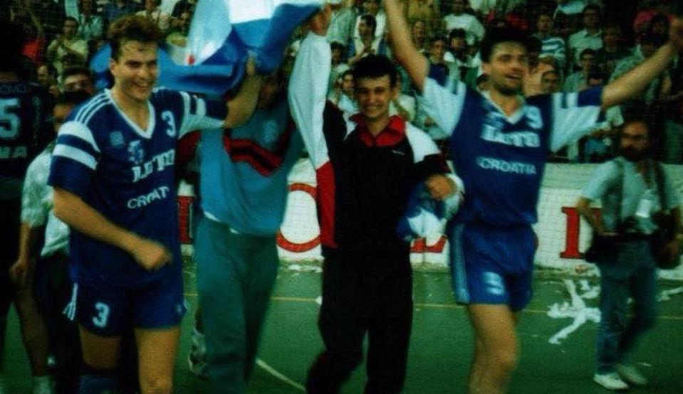 Iztok Puc je svojim pogotkom doneo Zagrebu titulu šampiona Evrope.
