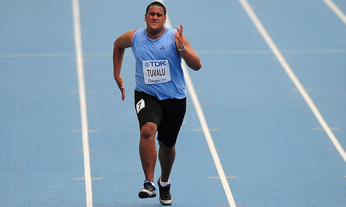 Sogelau Tuvalu imao je jedan od najgorih nastupa u istoriji atletskih prvenstava planete.