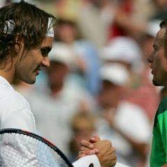 "Lejton Hjuit i Rodžer Federer – ""Svemirski tenis"""