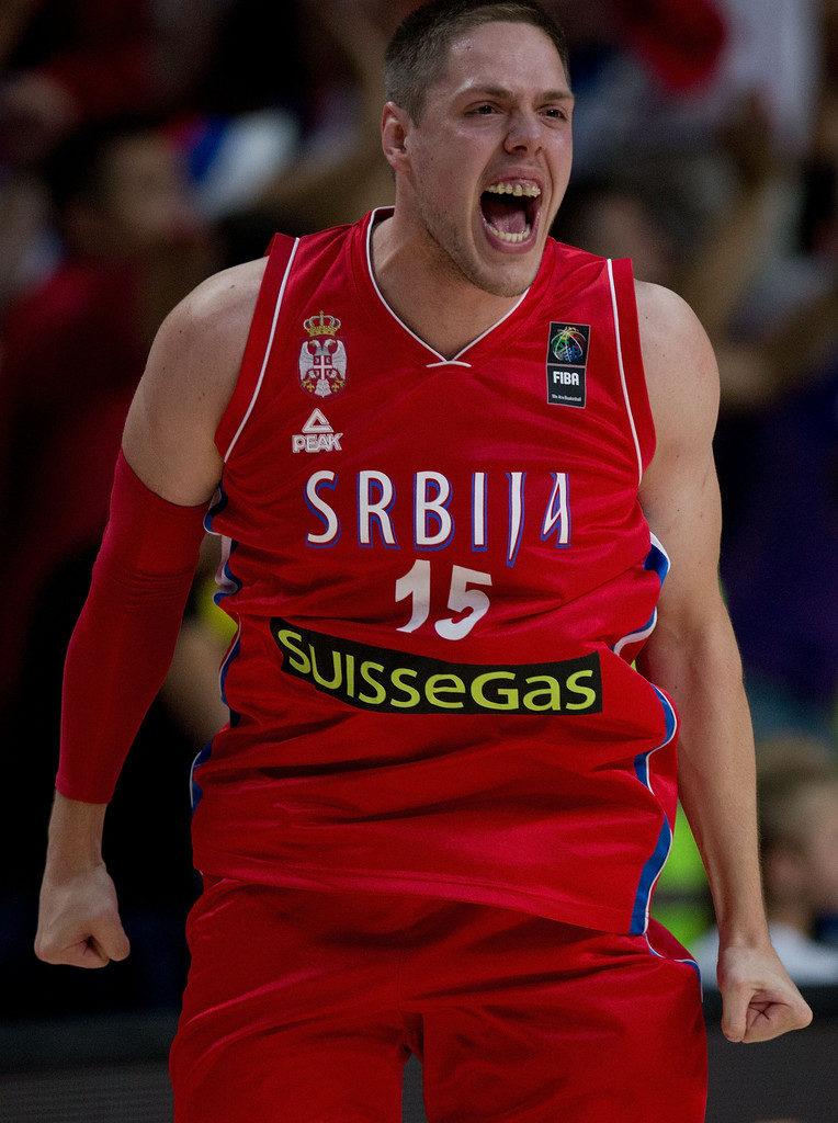 Vladimir Štimac je obožavao da igra za reprezentaciju Srbije.